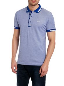 Oxford pique polo shirt