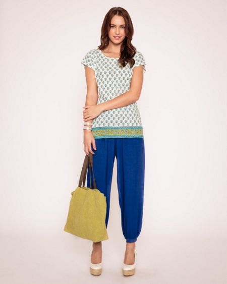 East Distressed Hareem Trouser