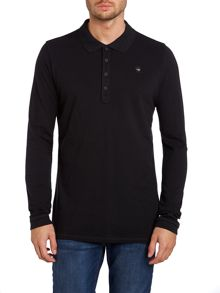 T-timmy long sleeve polo shirt