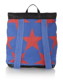 Africa multi colored star backpack