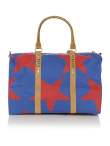 Africa multi colored star bowling bag