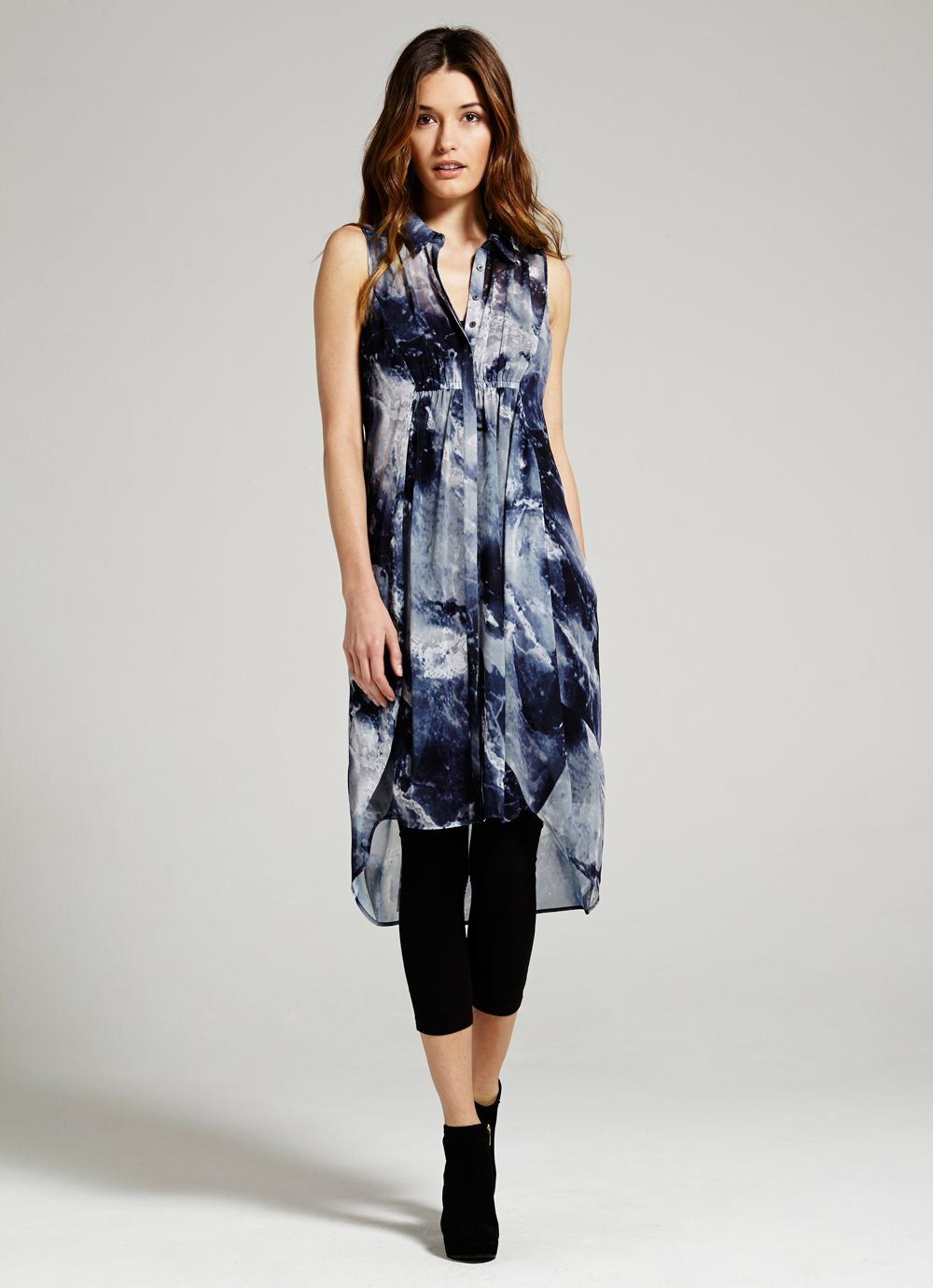 Luna Cocoon Shirt Dress