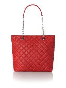 marina quilted tote bag