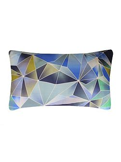 Stained Glass cushion in Blue 30x50