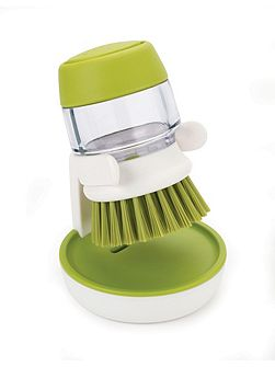 Joseph Joseph Palm Scrub Soap Dispensing Brush &