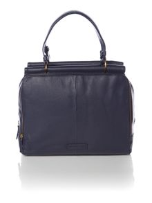 Triple frame handbag