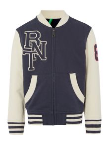 Boys collegiate baseball jacket