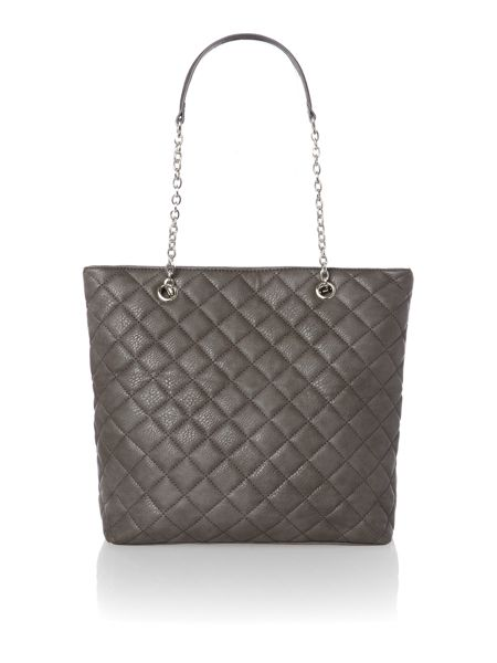 Linea marina quilted tote bag