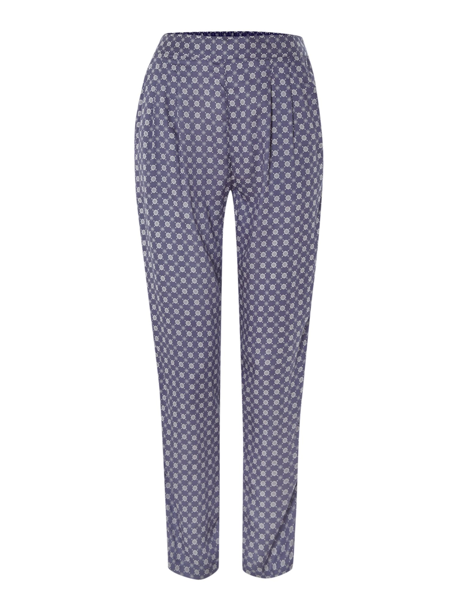 Orbit print trouser