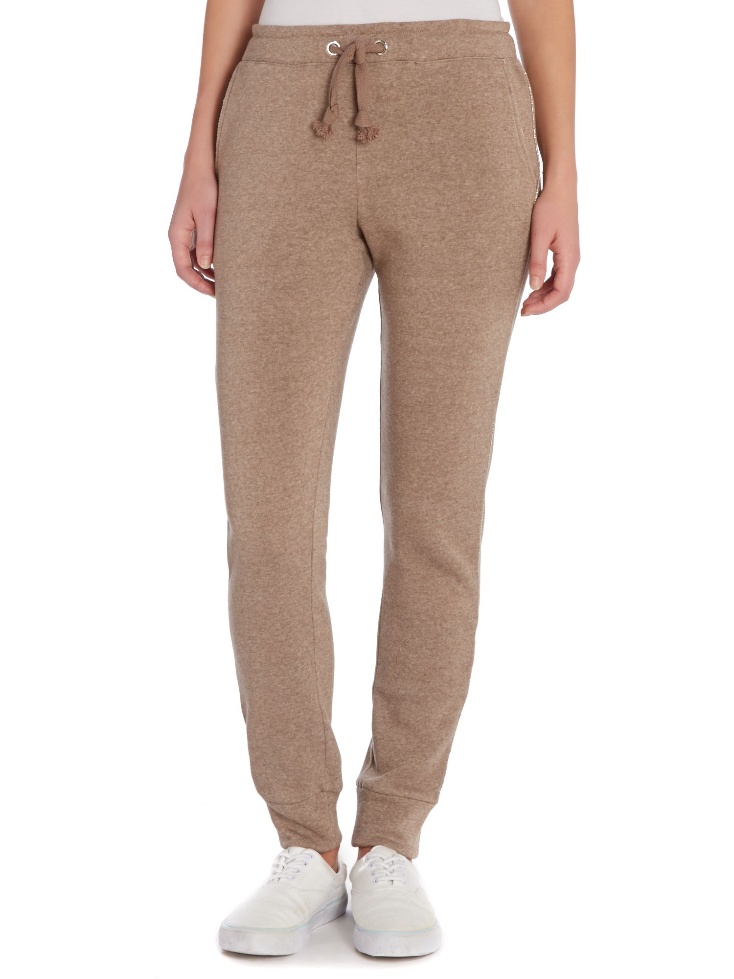 Jogging bottoms with a logo