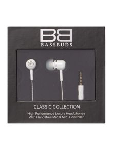 BassBuds classic earphone