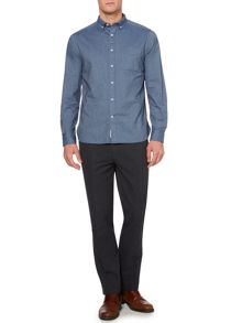 hudson plain long sleeve shirt