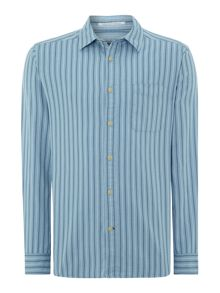 Deleware Stripe Long Sleeve Shirt