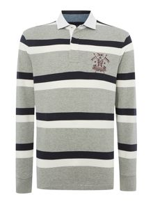 fairfield stripe long sleeve jersey