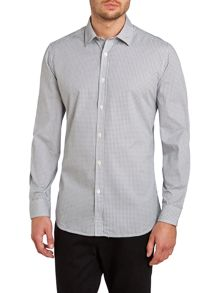 S-Milla geo print long sleeve shirt