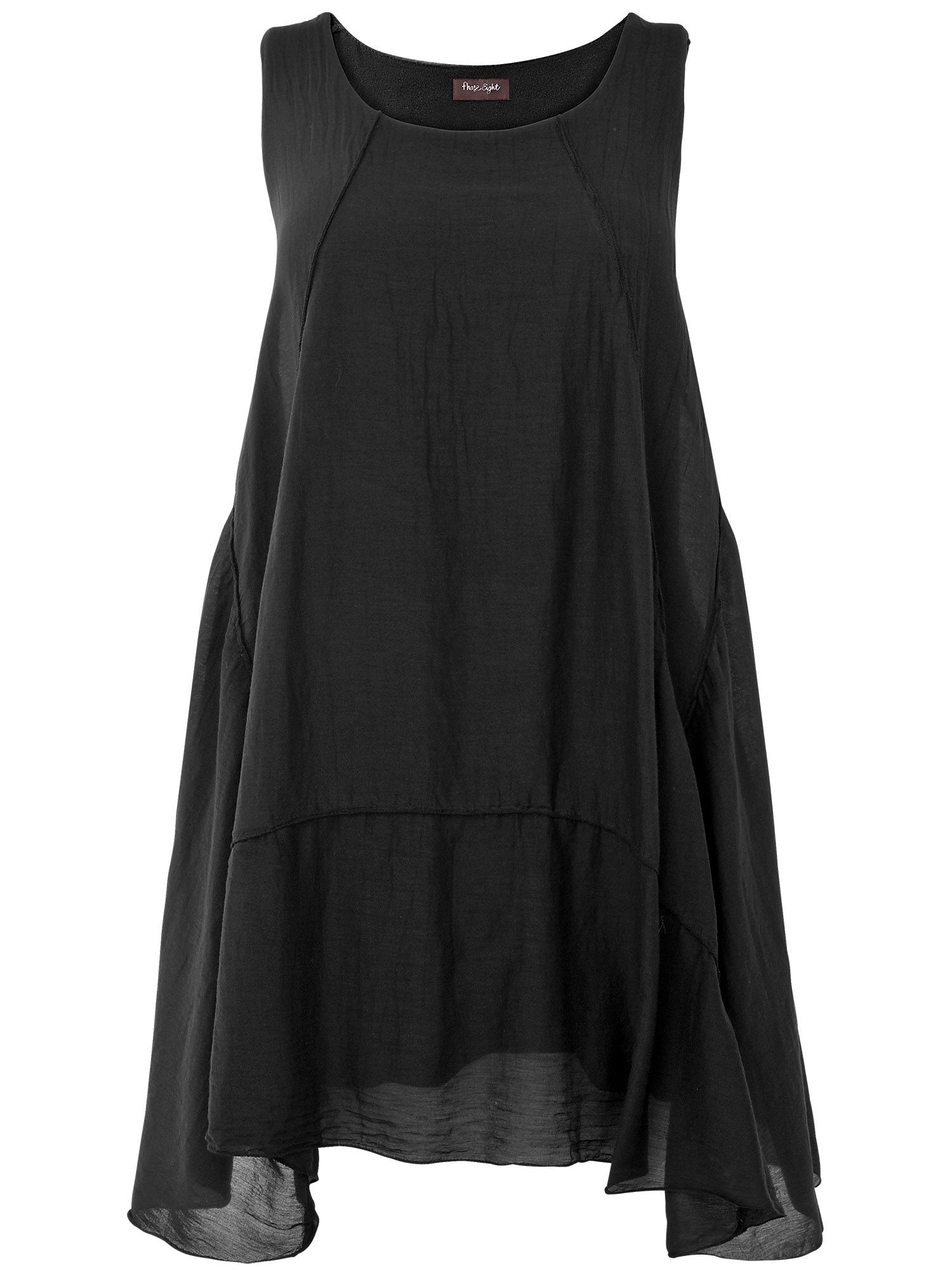 Portia silk cotton dress