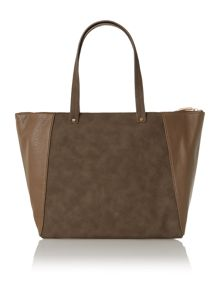 Febe suade natural tote bag