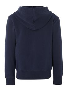 Boy`s hooded sweat top