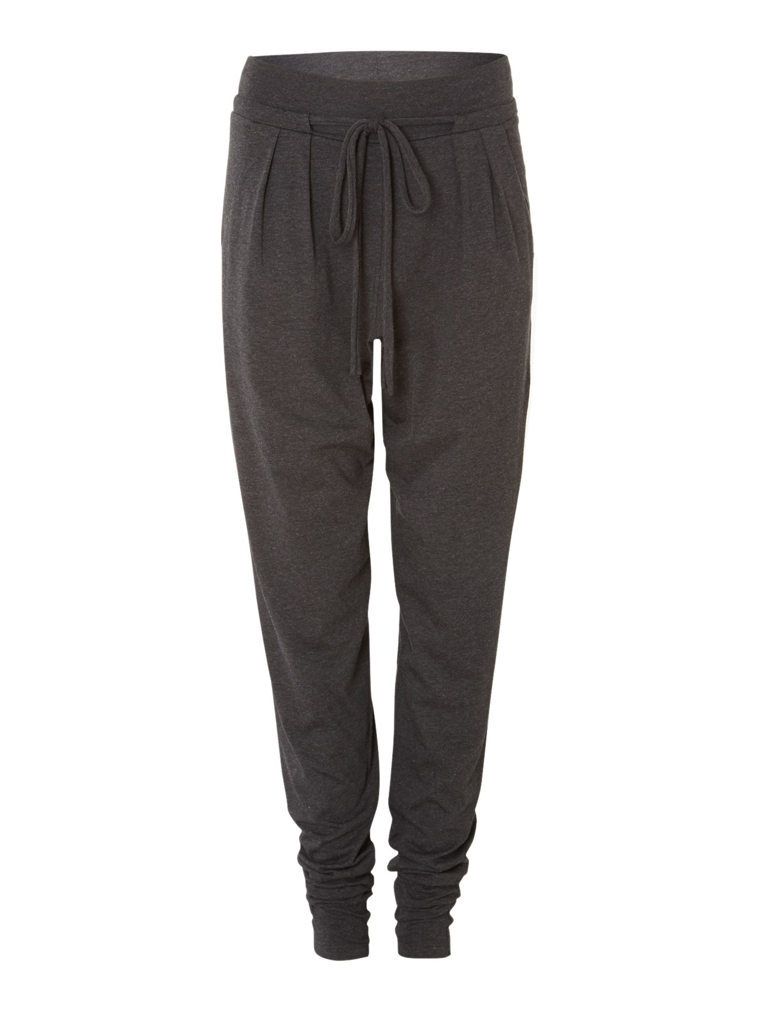 Relaxed fit jersey trousers