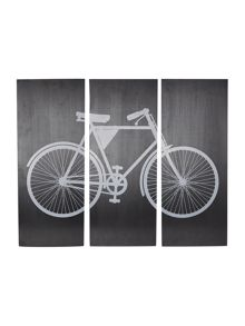 Set of 3 Bicycle wall art