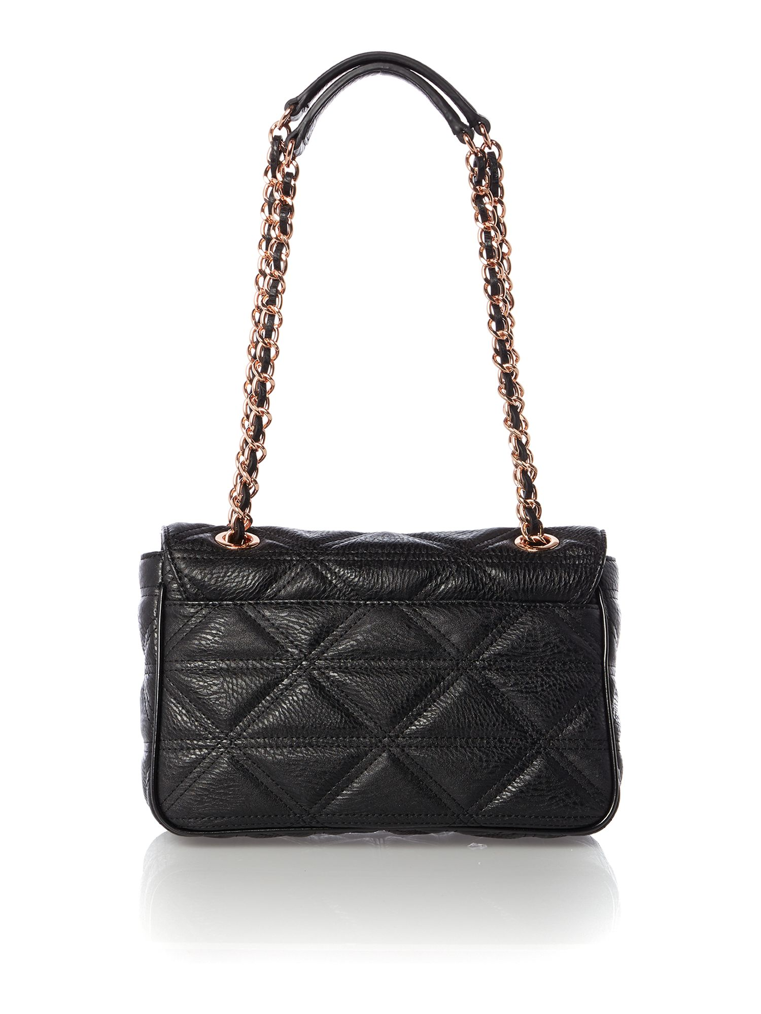 Sharlenemania black medium shoulder bag