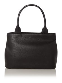 Bow black medium tote bag