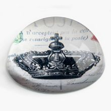 India Jane Crown paperweight