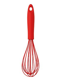 Silicone whisk red