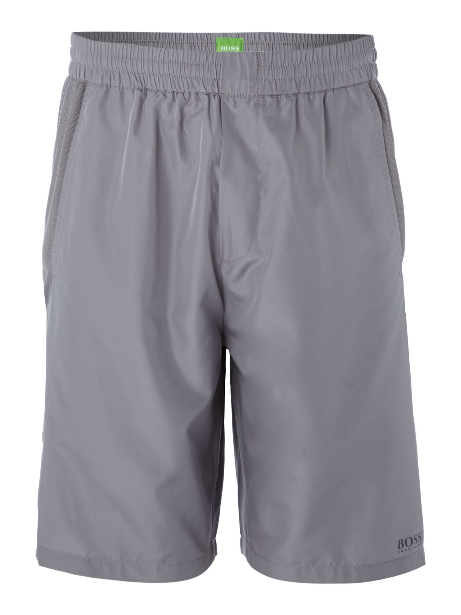 Contrast pocket active shorts