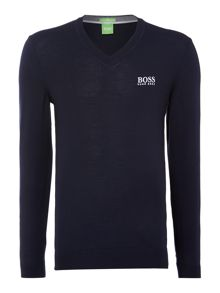 V neck golf jumper