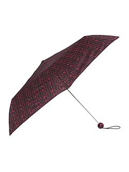 Climbing floral superslim umbrella