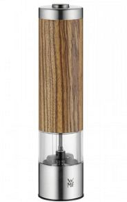 WMF Electric ceramill grinder zebrano wood