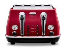 Micalite Icona Toaster Red