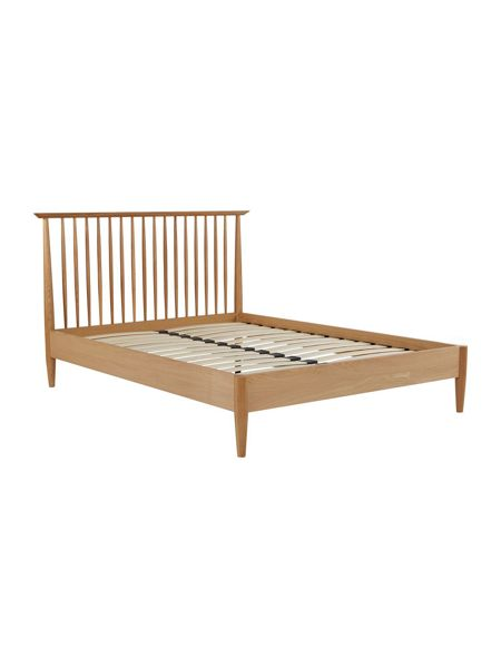 Linea Hoxton 150cm spindle light oak bedstead