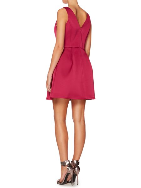 Untold Sleeveless fit and flare dress