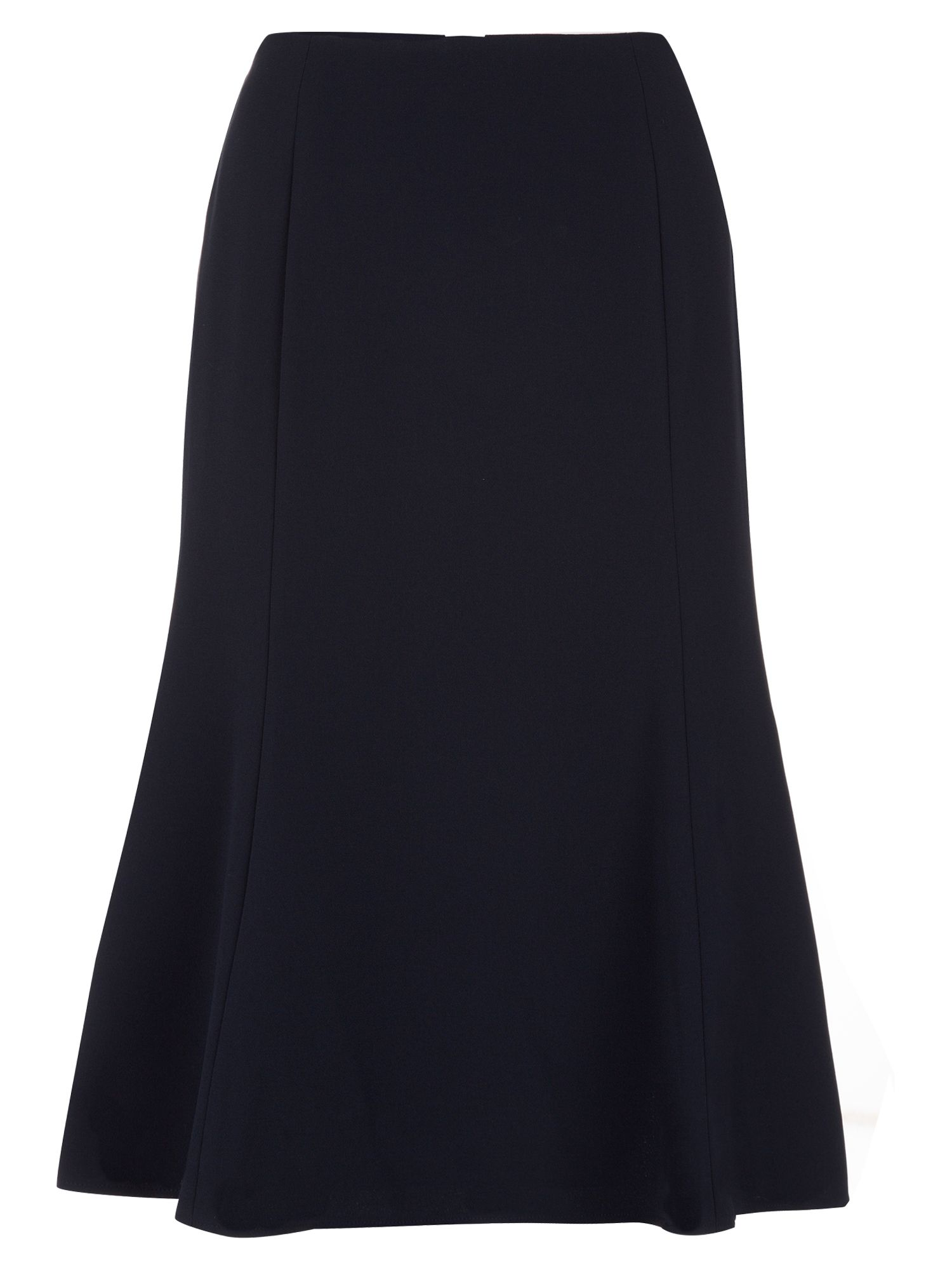 Eastex Navy Fit & Flare Skirt, Blue