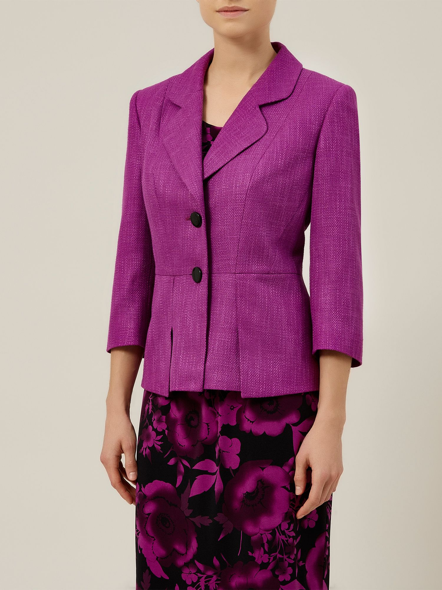 Berry textured jacket