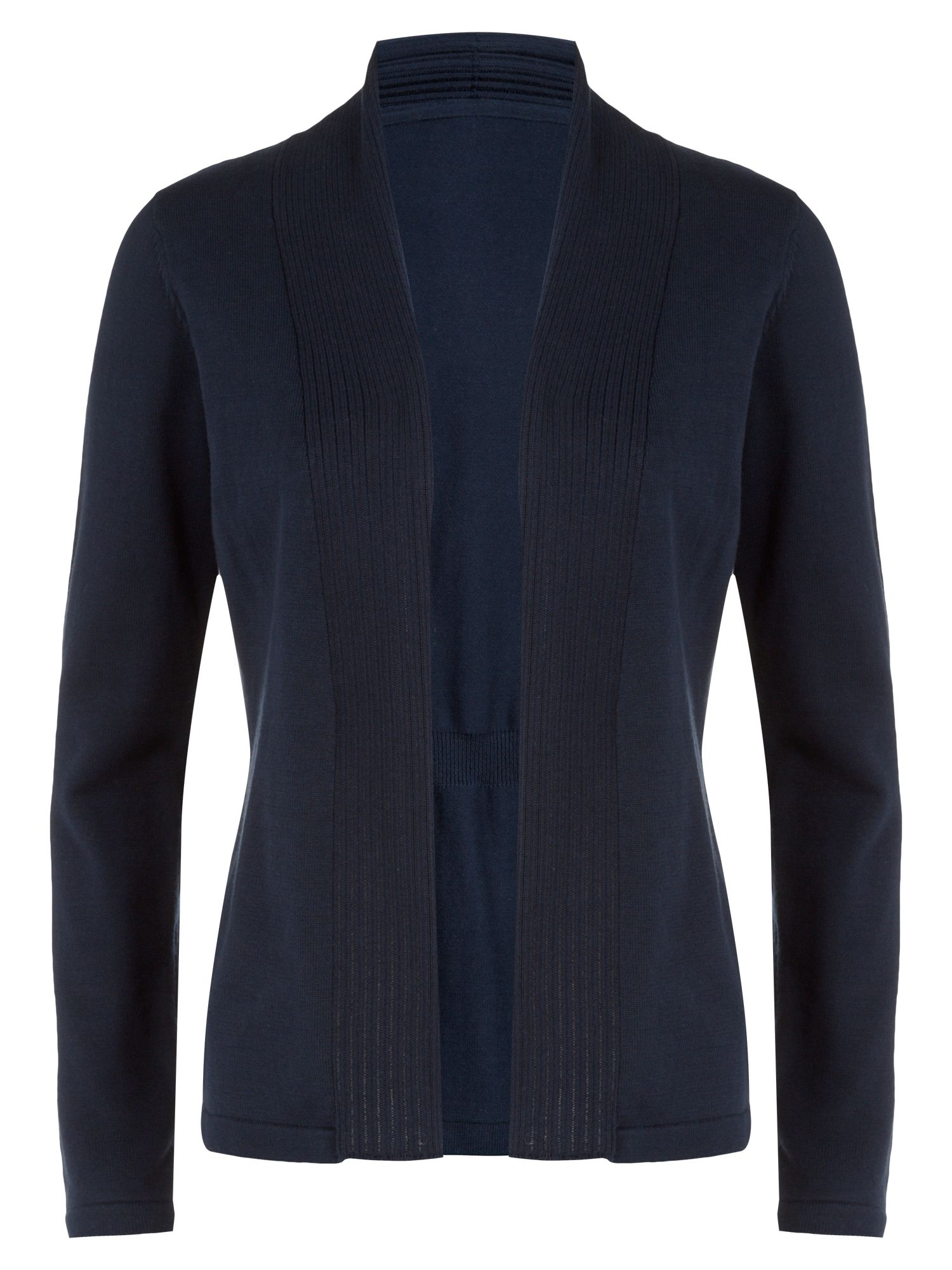 Winter navy cotton cardigan