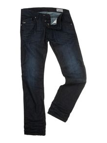 Darron 835g dark wash regular slim fit jeans