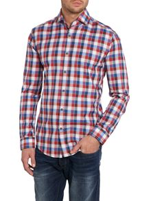 Large Gingham Check Shirt