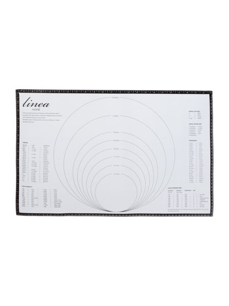 Linea Silicone pastry mat