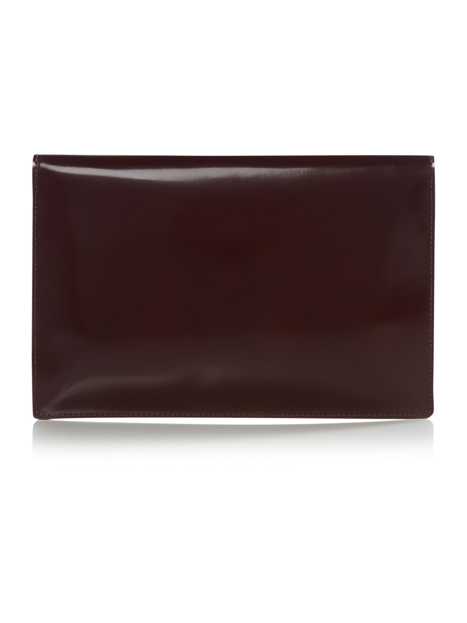Monaco red envelope clutch
