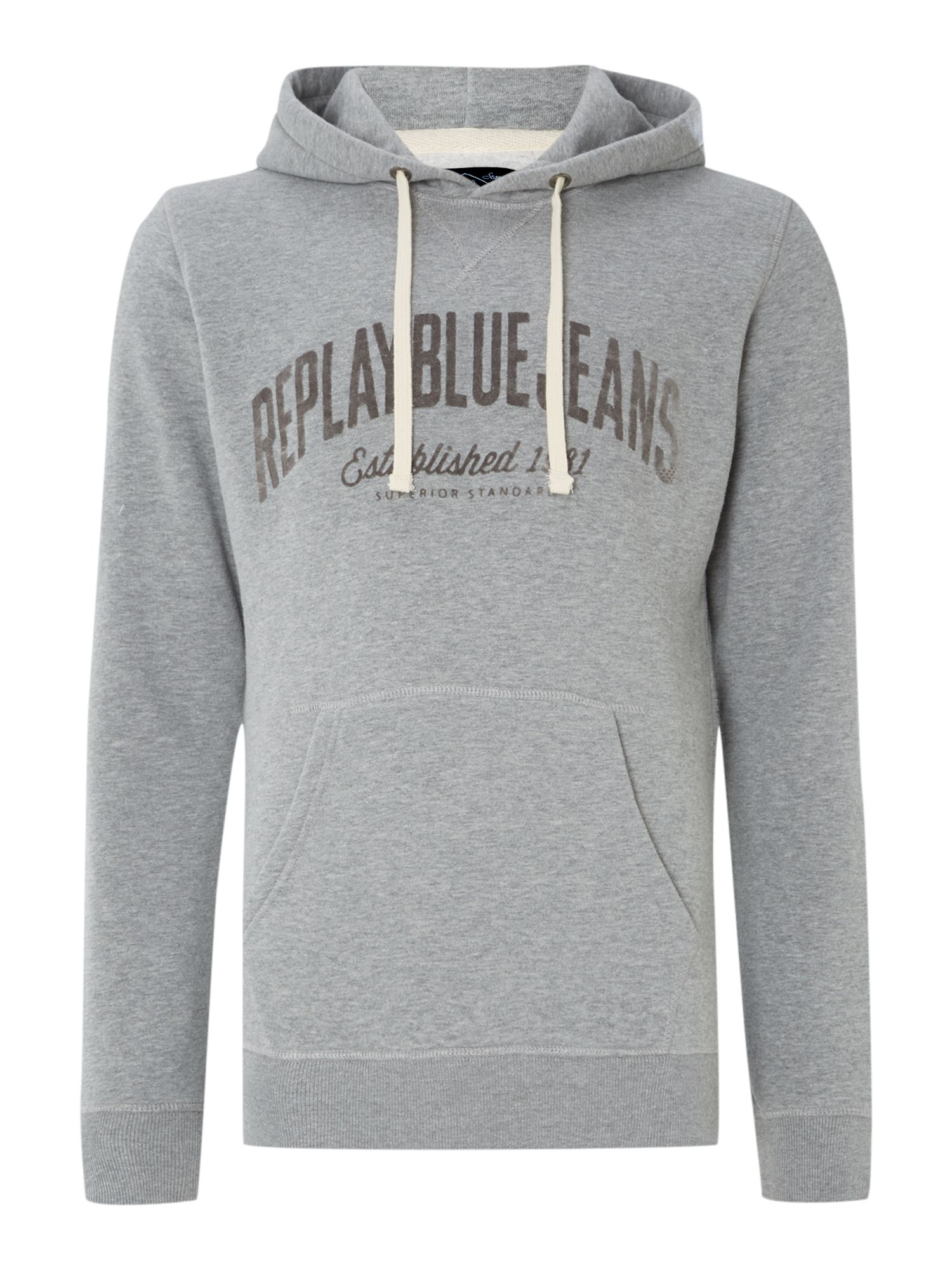 Basic fleece sweatshirt