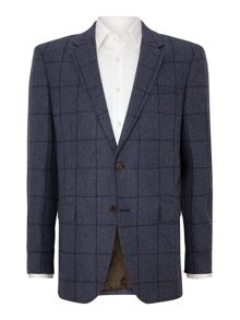 Bugatti Windowpane check blazer
