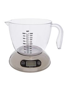 Large digital kitchen scale