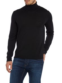 Merino roll neck jumper
