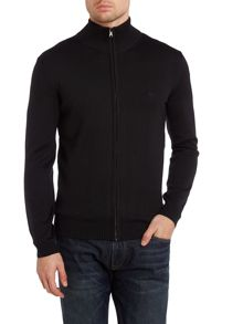 Merino zip up jumper