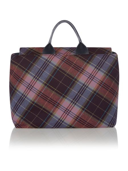 Vivienne Westwood Tartan multifunctional messenger bag