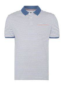 clint varigated stripe polo