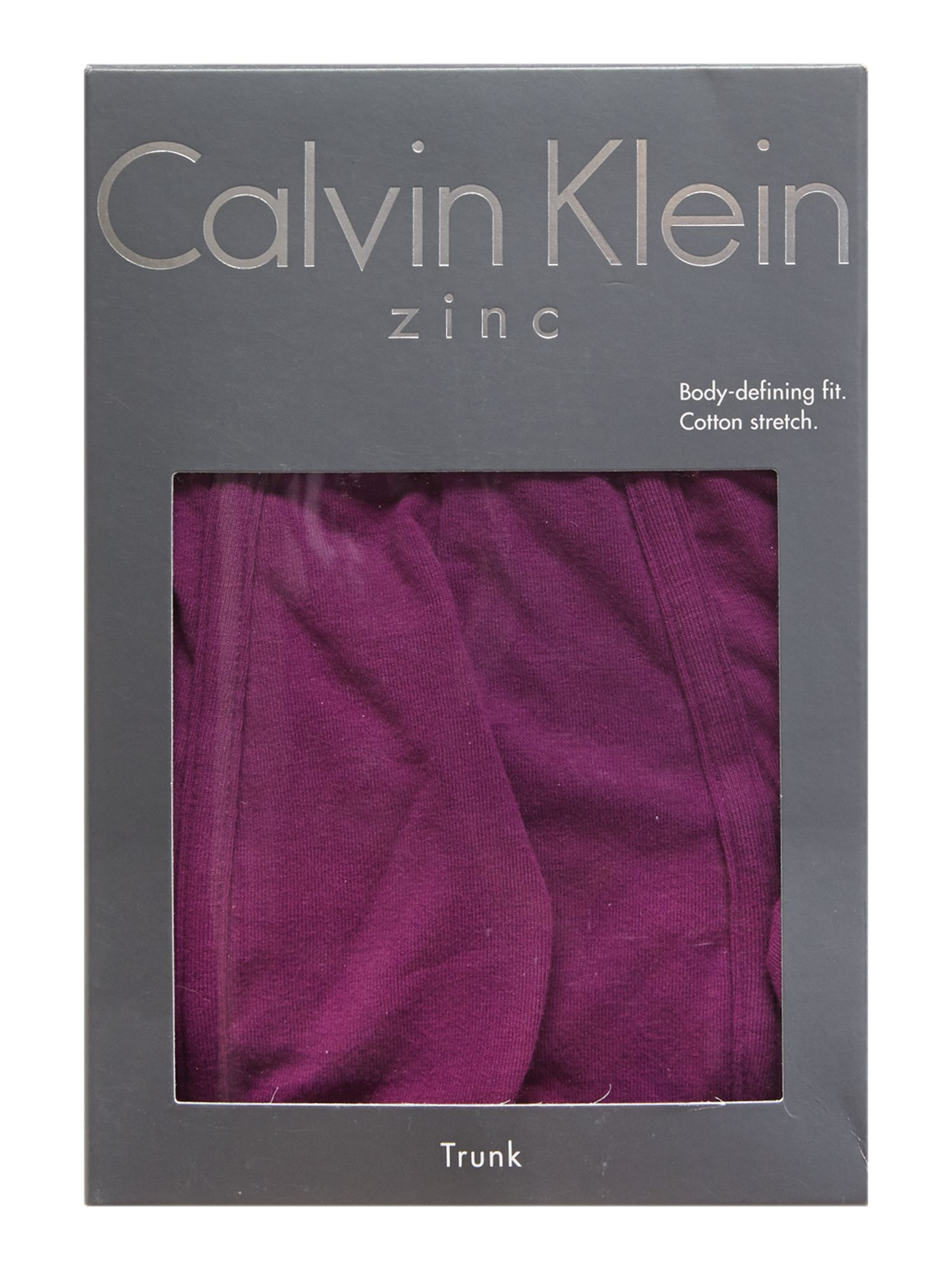 Zinc colour underwear trunk
